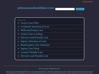Johnson and Smith Law