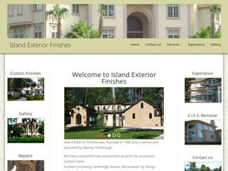 Island Exterior Finishes